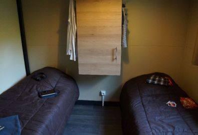 Lits simples - Chalet 2 chambres en Dordogne