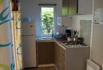 Coin cuisine - Mobil-home avec coin cuisine