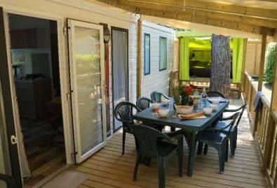 Terrasse - Une terrasse donnant sur la Campétoile