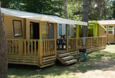 Mobil-home 6 personnes - Location d'un mobil-home 6 personnes + tente Campétoile 2 personnes