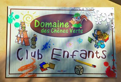 club enfants - le club enfants est ouvert en pleine saison