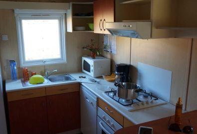 cottage la roque cuisine - location chalet dordogne chalet